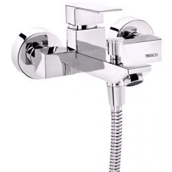 Tresco Divine Single Lever Wall Mixer With Button