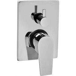 Tresco Divine Single Lever High Flow Concealed Diverter