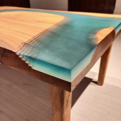 Dawki River Table by Poona Resin Company