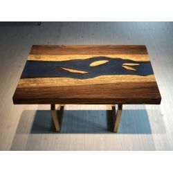Brahmaputra River Table by Poona Resin Company