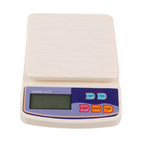 Digital Weighing Scale, Off White -10kg