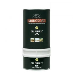 Rubio Monocoat Oil Plus 2C, Pure + Cleaner (Combo pack of 230 ml)
