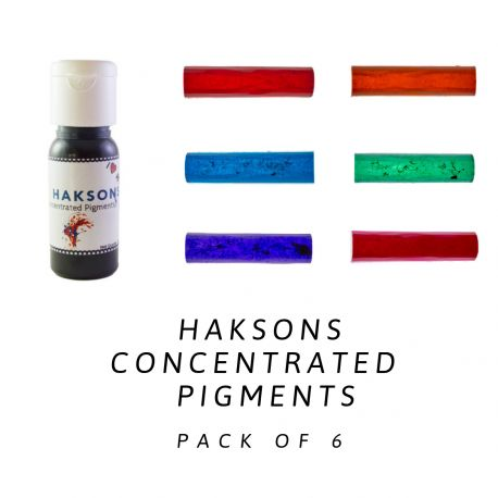 Haksons Concentrated Pigments (Pack of 6)