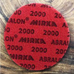 Mirka Abralon 150 mm P2000 Grit Foam Disc/Pads