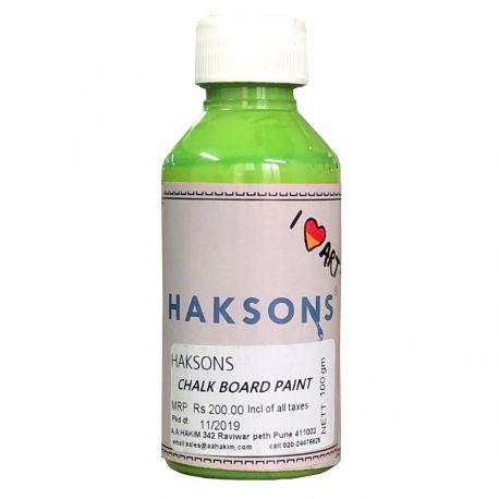 Haksons Chalkboard Paints - Leaf Green