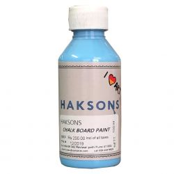 Haksons Chalkboard Paints - Sky Blue