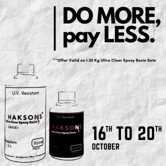 DO MORE, pay LESS - Haksons Ultra Clear Sets (1350 gms)