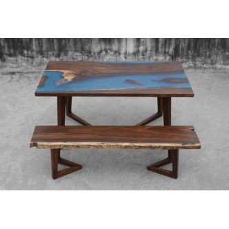 The Cobalt Dining Table And...