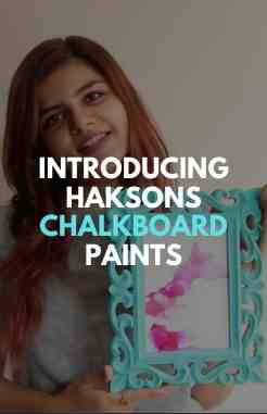 Haksons Chalk Board Paints